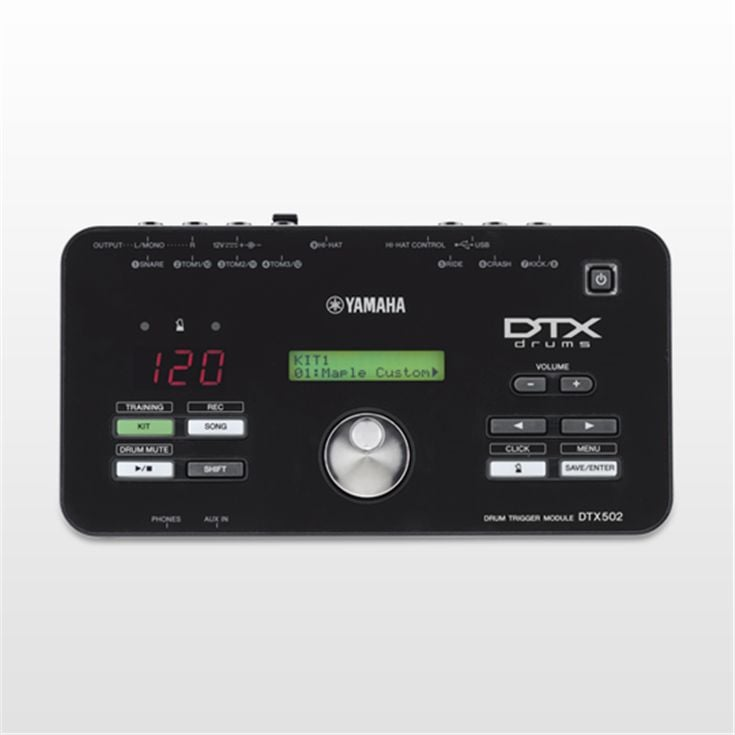 dtx502 overview electronic drum trigger modules electronic drums drums musical. Black Bedroom Furniture Sets. Home Design Ideas