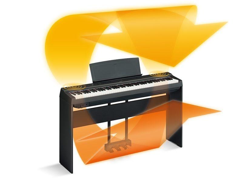 Yamaha P-125 Digital Piano 2-way Speaker System