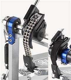 Double chain drive of the Ya,aha DP9C pedal