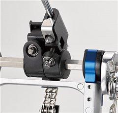 Yamaha FP9 pedal has Independent Beater/Footboard Angle Adjustment