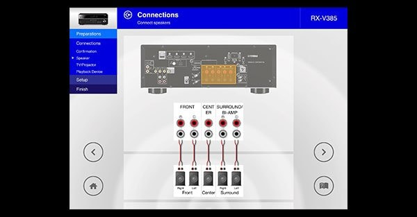 Yamaha AVSetupGuide App