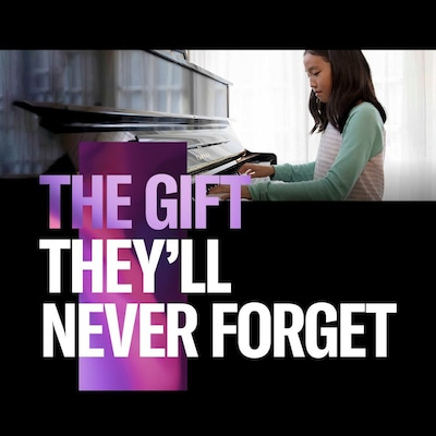 Piano Gift They'll Never Forget