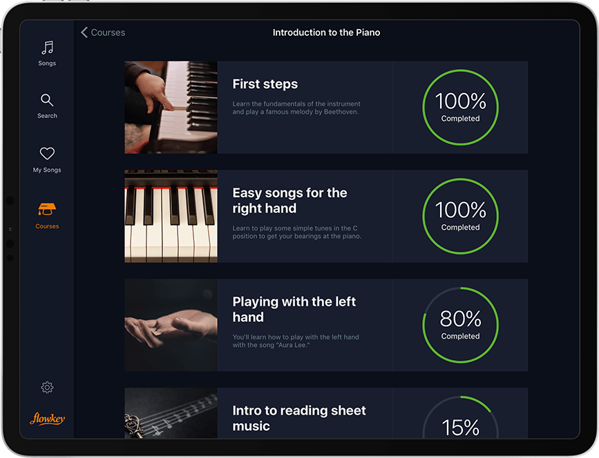 Learn notes, chords, accompaniment & more faster than ever