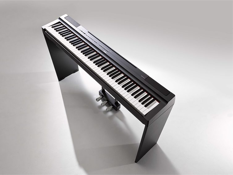 Add the L125 stand & LP1 pedal to your P125 to make a complete compact digital piano