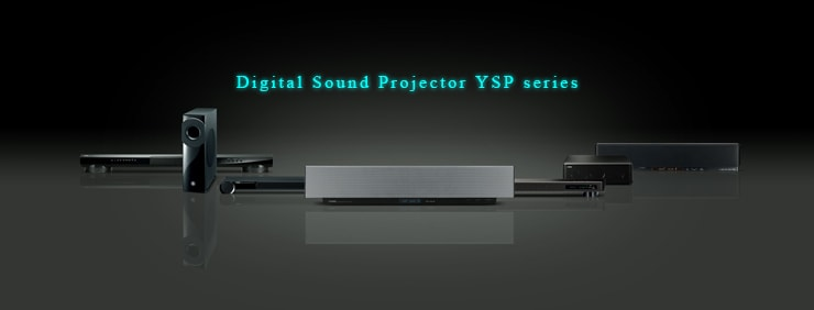 Digital Sound Projector YSP series